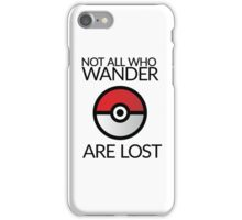 Wanderlust Pokeball iPhone Case/Skin