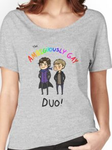 The Ambiguously Gay Duo! Women's Relaxed Fit T-Shirt