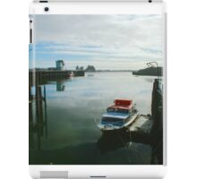 Westport Fishing Boats iPad Case/Skin