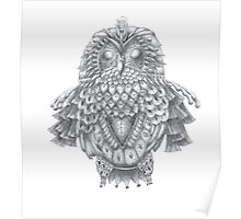 Zen Owl Poster