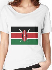 Kenya Women's Relaxed Fit T-Shirt