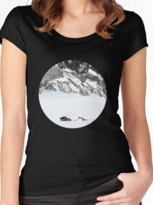 Nowhere Women's Fitted Scoop T-Shirt