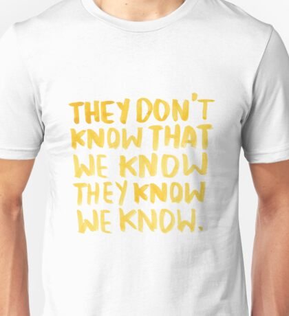 """Friends: """"The One Where Everybody Finds Out"""" Unisex T-Shirt"""