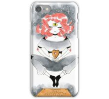 Pink Haired Ouija Girl iPhone Case/Skin