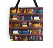 Book pattern Tote Bag