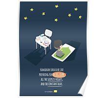 Ramadhan should be like preparing for the big exam... Poster