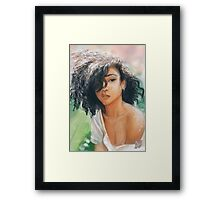 'Silver Earring' - Fine Art Portrait Framed Print