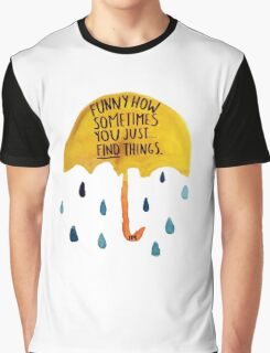 "HIMYM: ""Funny how"" Graphic T-Shirt"