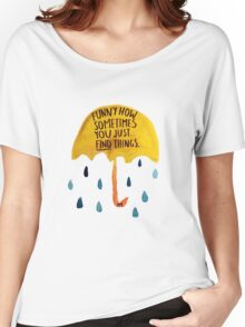 "HIMYM: ""Funny how"" Women's Relaxed Fit T-Shirt"