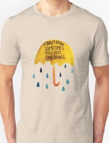 """HIMYM: """"Funny how"""" Unisex T-Shirt"""