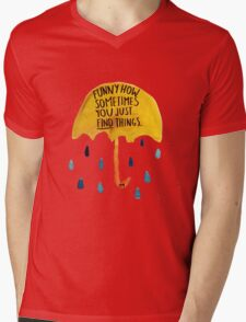 """HIMYM: """"Funny how"""" Mens V-Neck T-Shirt"""