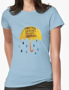 "HIMYM: ""Funny how"" Womens Fitted T-Shirt"