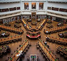 State Library by Maciej Nadstazik