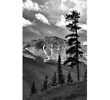 View from atop Winter Park Mountain 2  Photographic Print