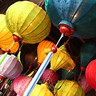 Vietnamese lanterns by Jenny Hall