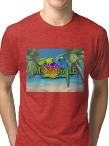 jimmy buffet margaritaville special album cover Tri-blend T-Shirt