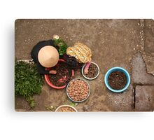 Haggling Canvas Print