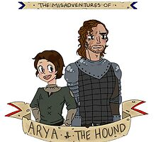 The Misadventures of Arya and The Hound by jaemk2