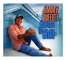 license to chill - jimmy buffett Photographic Print