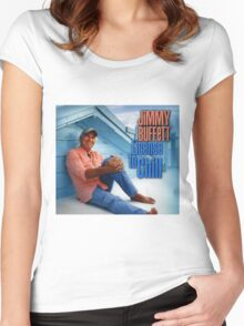 license to chill - jimmy buffett Women's Fitted Scoop T-Shirt