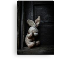 Faceless Bunny Canvas Print