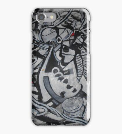 Pirate jumble BW iPhone Case/Skin