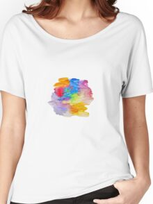 The pattern of colored spots. Women's Relaxed Fit T-Shirt