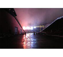 Gillette Stadium Photographic Print