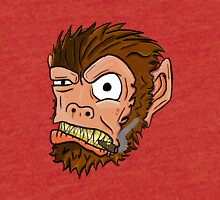 Crazy Monkey Cigar Tri-blend T-Shirt