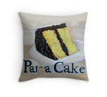 Pat -a-Cake Throw Pillow