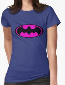 Batpink Womens Fitted T-Shirt