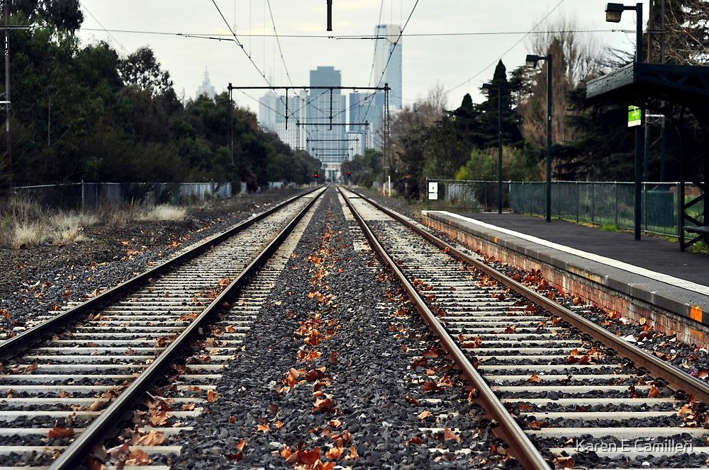 Fast Track to Melbourne by Karen E Camilleri
