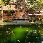 Peaceful Pools, Tirta Empul. by BaliBuddha