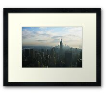 New York Skyline 2011 Framed Print