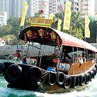 Sampan -  Hong Kong by Sandra  Sengstock-Miller
