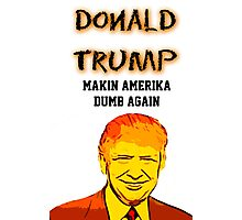 Making America Dumb Again Photographic Print