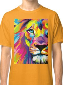 Colorful Lion Classic T-Shirt