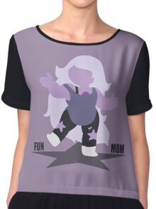 Fun Mom  Chiffon Top