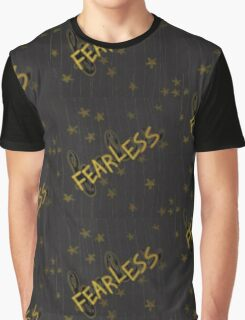 Fearless in Yellow Graphic T-Shirt