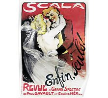 Vintage Scala Enfin Seuls Poster Poster