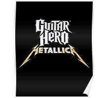 guitar hero metallica Poster
