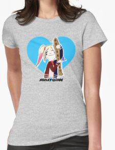 Harley Quinn the Lovable Womens Fitted T-Shirt