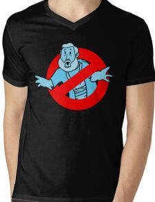 Force GhostBusters Mens V-Neck T-Shirt