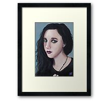 'Black Top' - Fine Art Portrait Framed Print