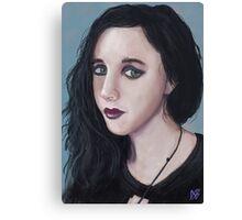 'Black Top' - Fine Art Portrait Canvas Print