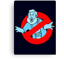 Force GhostBusters Canvas Print