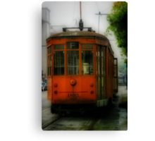 Street Car Canvas Print
