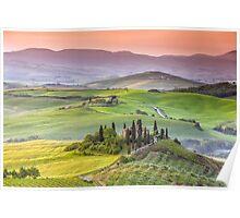 Tuscany villas Poster