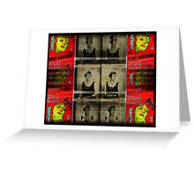 """""""we didn`t need dialogue,we had faces"""" Greeting Card"""