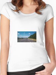 Beachbound Road Women's Fitted Scoop T-Shirt